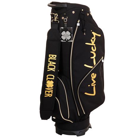 ブラッククローバー(Black Clover) ゴルフ キャディバッグ メンズ 9.0型キャディーバッグ BC5HNC01 BLK (Men's)