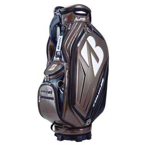 ブリヂストンゴルフ(BRIDGESTONE GOLF) キャディバッグ メンズ 限定エナメル 9型 CBG01BBZ (Men's)