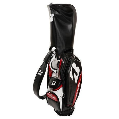ブリヂストンゴルフ(BRIDGESTONE GOLF) プロレプリカモデル キャディバッグ 2020 CBG001BK 付属品:JR (Men's)