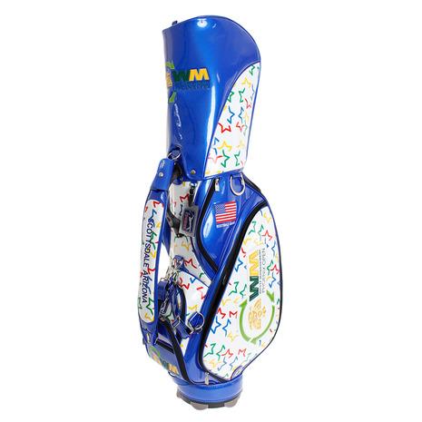 ダイヤ(DAIYA) ゴルフ キャディバッグ メンズ USPGAキャディーバッグ 3073 BL CB-3073 BL (Men's)