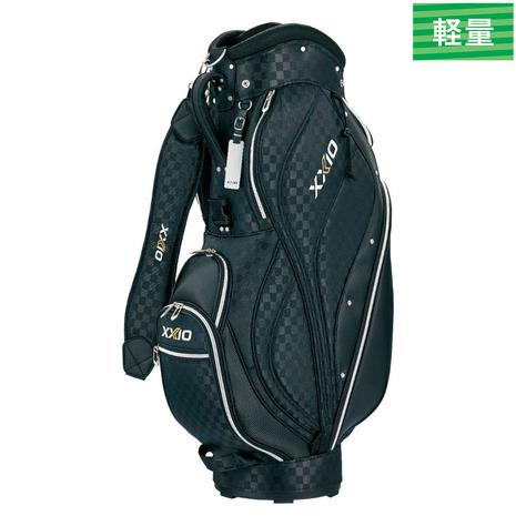 ゼクシオ(XXIO) キャディバッグ メンズ  クラシック GGC-X111 ブラックチェック 付属品:JR (Men's)
