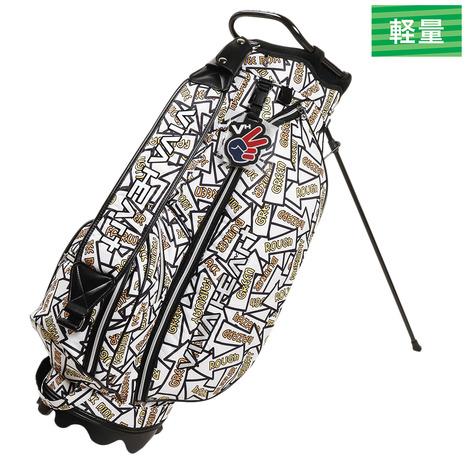 ビバハート(VIVA HEART) ゴルフ バッグ メンズ アローサインキャディバッグ 013-11830-004 付属品:JR (Men's)