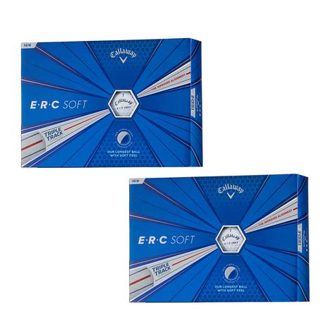キャロウェイ(CALLAWAY) ゴルフボール E・R・C ソフト ボール 2ダースまとめ買いセット ホワイト (Men's)