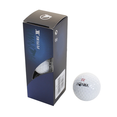 ゴルフ用品 ゴルフ 小物 ヴィクトリアゴルフ おすすめ オンラインショッピング スーパーSALE限定 さらに 最大2000円OFFクーポン配布中 本間ゴルフ フューチャーダブルエックス 送料無料新品 BTQ1902 ゴルフボール キッズ メンズ HONMA レディース