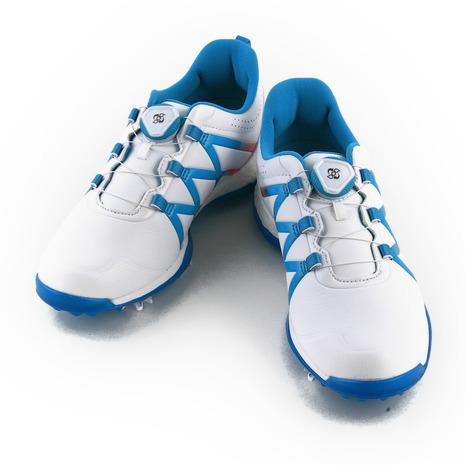 アディダス(adidas) 【店頭展開による多少の傷・汚れ有で大特価、売り切れご容赦!】 Wアディパワーブーストボアシューズ Q44746 W/BL (Lady's)