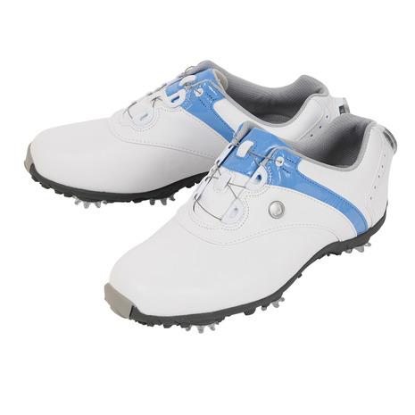 フットジョイ(FootJoy) ゴルフシューズ 18 ロープロSP ボア WT/BL 97170W (レディース) (Lady's)