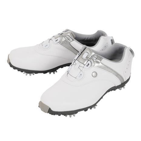 フットジョイ(FootJoy) ゴルフシューズ 18 ロープロSP ボア WT/SV 97180W (レディース) (Lady's)