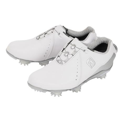 フットジョイ(FootJoy) ゴルフシューズ (Lady's) ゴルフシューズ 18 ゴルフシューズ Wo DJ ボア (レディース) WT/SV 99068W (レディース) (Lady's), 壁紙&ウォールデコ 壁際貴族:49de41da --- sunward.msk.ru