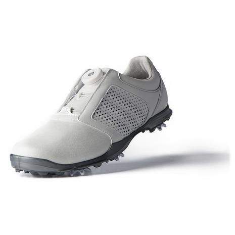 アディダス(adidas) ゴルフシューズ Wアディピュアボア-F33639W/メタ (レディース) (Lady's)