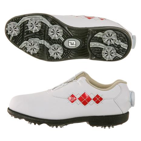 フットジョイ(FootJoy) ゴルフシューズ 18 Eコンフォート ボア (Lady's) WT Eコンフォート/RD WT/RD 98625XW (Lady's), ワインセラーパリ16区:9a7c6aca --- sunward.msk.ru