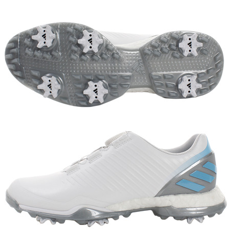 【2月1日限定!カード決済でポイント18倍!】アディダス(adidas) ゴルフシューズ レディース アディパワーフォージドボア スパイク BB7843W/BC (Lady's)