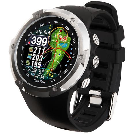 ショットナビ(Shot Navi) ゴルフナビ 腕時計タイプ ショットナビ エボルブ W1 Evolve 距離測定器 GPS (メンズ、レディース)
