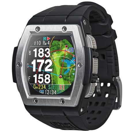 ショットナビ(Shot Navi) 距離測定器 腕時計型 GPS クレスト シルバー Crest S  (メンズ、レディース)