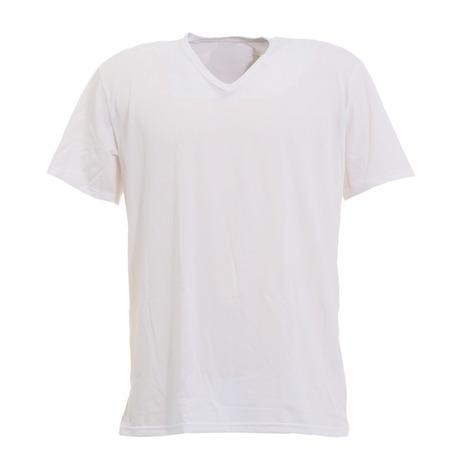 エーシーピージー ACPG ヒートクロス インナーシャツ 日本 あったか 激安特価品 薄手 Vネックシャツ 半袖 メンズ