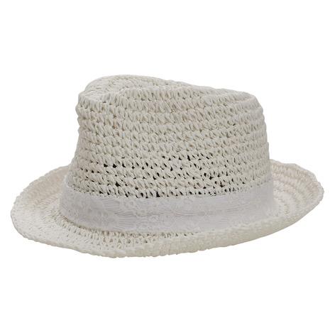 11日9:59まで 誕生日 お祝い 最大11%クーポンあり エーアールジー arg 多少の傷汚れありの為大奉仕 帽子 保障 レディース RIBBON HAT WHT AG83AC1079 PAPER 日よけ 麦わら帽子