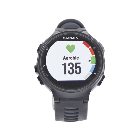 ガーミン(GARMIN) ランニングウォッチ FA735XTJ BK/GR RDP 161436 (Men's、Lady's、Jr)