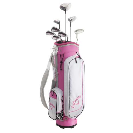 キャロウェイ(CALLAWAY) Solaire PACKAGE SET 16 PNK (クラブセット) ゴルフクラブ8本セット (1W、5W、6H、7I、9I、PW、SW、PT) (Lady's)