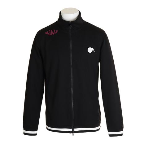KIWI&CO. フルジップジャケット Jersey Track Jacket 93EK1BL02100M-C019 (Men's)