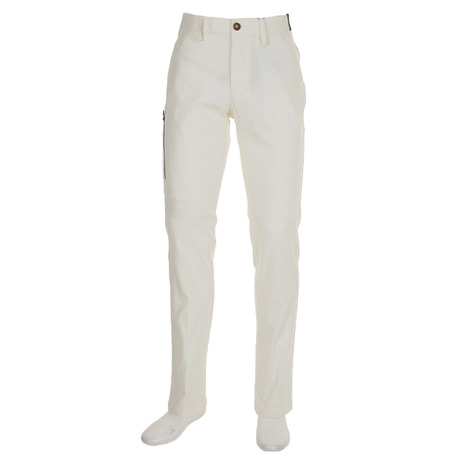 アディダス(adidas) ヘリンボーンEXパンツ CCS54-U31046-ホワイト-18FW (Men's)