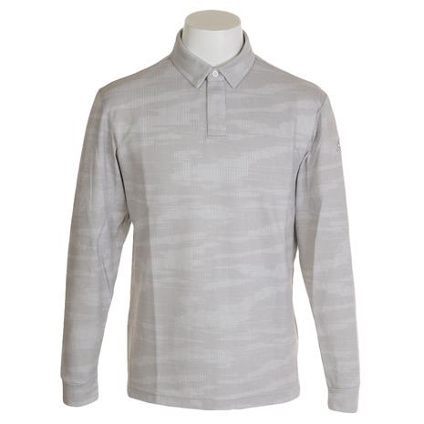 アディダス(adidas) カモフラージュジャカードボタンダウンシャツ FYO90-EH3644W (Men's)