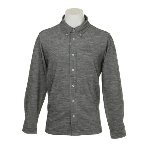 カッターアンドバック(CUTTER&BUCK) マナード前開きシャツ CGMMJB11-GY00 (Men's)