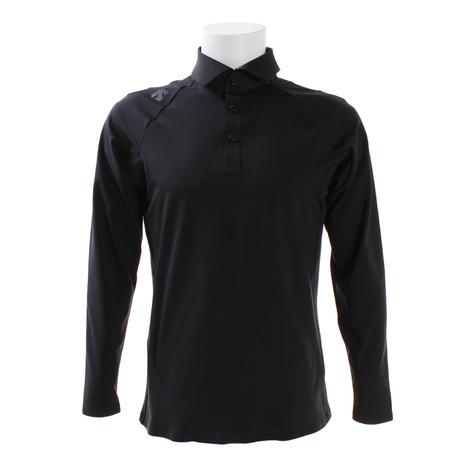 デサントゴルフ(DESCENTEGOLF) ゴルフウェア メンズ G-ARC 長袖シャツ DGMMJB17-BK00 (Men's)