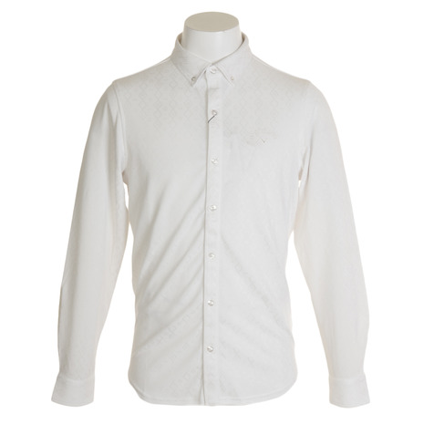 キャロウェイ(CALLAWAY) ネイティブジャカード共襟シャツ 241-9256501-030 (Men's)