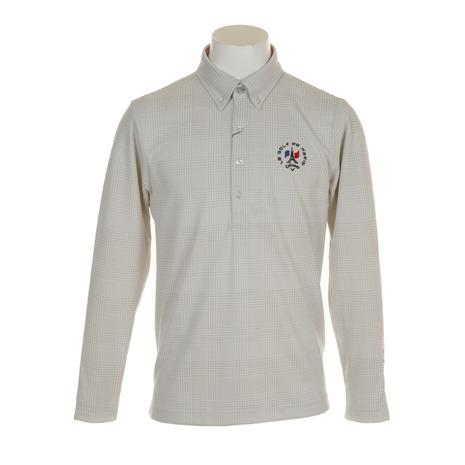 キャロウェイ(CALLAWAY) 18MグレンチェックジャカードB.D.カラーシャツ 241-8256500-021 (Men's)