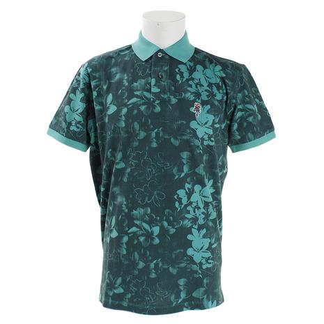 ジェッカーソン(Jackson) ゴルフウェア メンズ J030035 フラワーポロシャツ J030035 GRN (Men's) GRN (Men's), ambiance:394b6a79 --- sunward.msk.ru