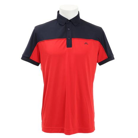 Jリンドバーグ(J.LINDEBERG) ゴルフウェア MATEO REG FIT TX COOL 半袖ポロシャツ 071-29541-064 (Men's)