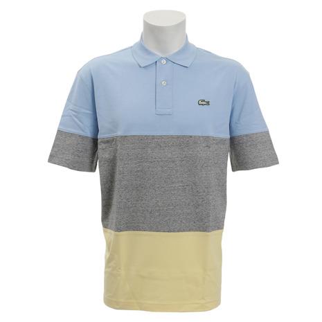 ラコステ(LACOSTE) ゴルフウェア メンズ ルーズフィットカラーブロッキングポロシャツ DH3645L-8YZ (Men's)
