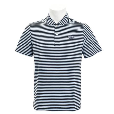 ラコステ(LACOSTE) ゴルフウェア メンズ ダイヤロゴボーダーポロシャツ DH3650L-8ZJ (Men's)