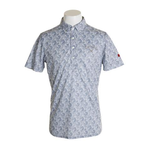 キャロウェイ(CALLAWAY) 19M8SELECTペイズリー半袖シャツ 241-9257005-030 (Men's)