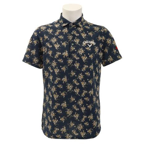 キャロウェイ(CALLAWAY) ゴルフウェア 花柄プリント メンズ 花柄プリント メンズ レギュラーカラーシャツ 241-9157014-120 241-9157014-120 (Men's), かしわ工房小林養鶏:63ec76f1 --- sunward.msk.ru