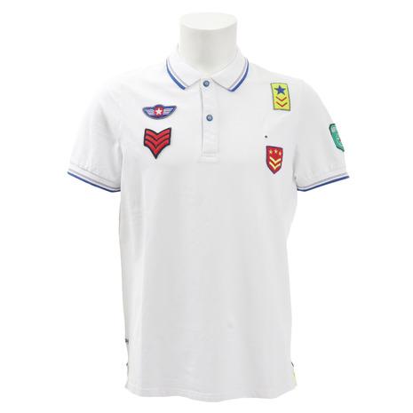 Shockly ゴルフウェア メンズ メンズ ゴルフウェア 半袖ポロシャツ AEREONAUTIC-9B-EUS01 Shockly (Men's), Beard Store:dd6ffad5 --- sunward.msk.ru