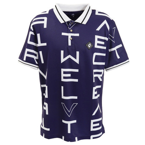 V12 GALAXY 半袖ポロシャツ V122010-CT07-NVY (Men's)