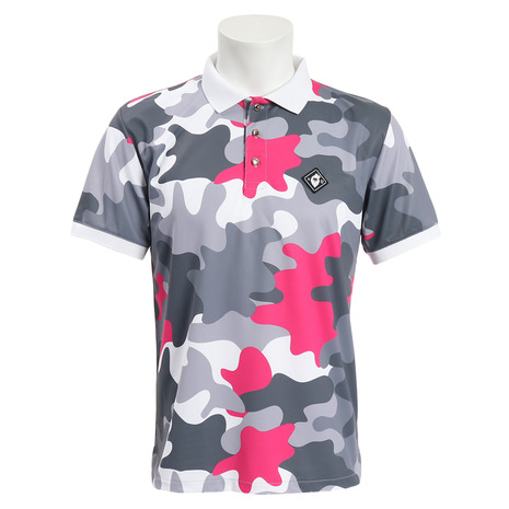 V12 ゴルフウェア メンズ JIGSAW 半袖ポロシャツ V121910-CT11-PNK (Men's)