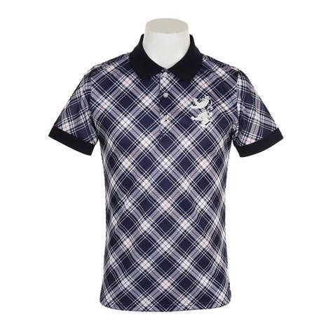 アドミラル(Admiral) ゴルフウェア ADMA922-NVY メンズ ビッグチェック メンズ (Men's) 半袖ポロシャツ ADMA922-NVY (Men's), ガーデン ストーリー:5a166257 --- sunward.msk.ru