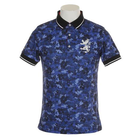 アドミラル(Admiral) カモリーフ ポロシャツ ADMA868-NVY (Men's)