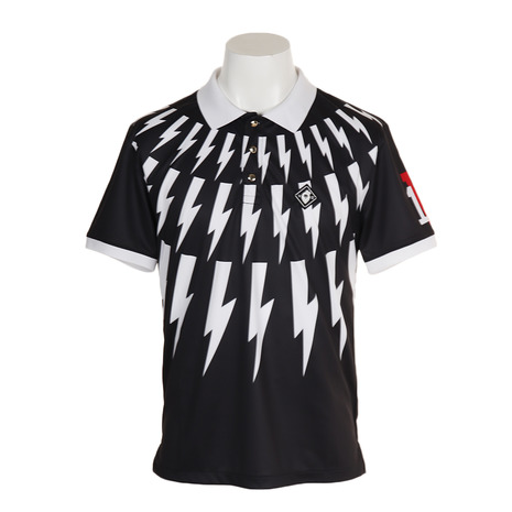 V12 ポロシャツ THUNDER POLO V121910-CT21-BLK (Men's)