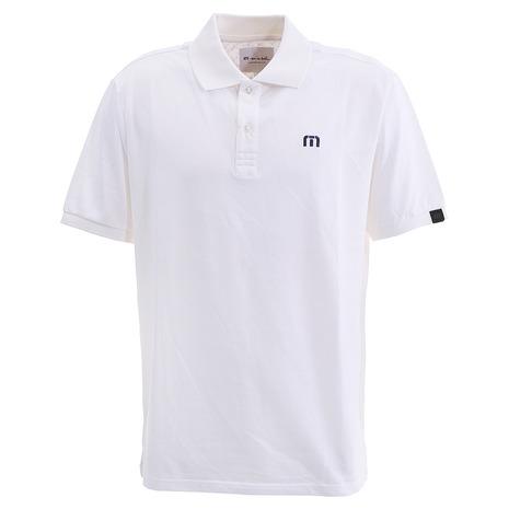 【ポイント最大14倍!0のつく日限定!エントリー要】トラビスマシュー(Travis Mathew) 半袖ポロシャツ 7AB100 M 1WHT 19FH (Men's)