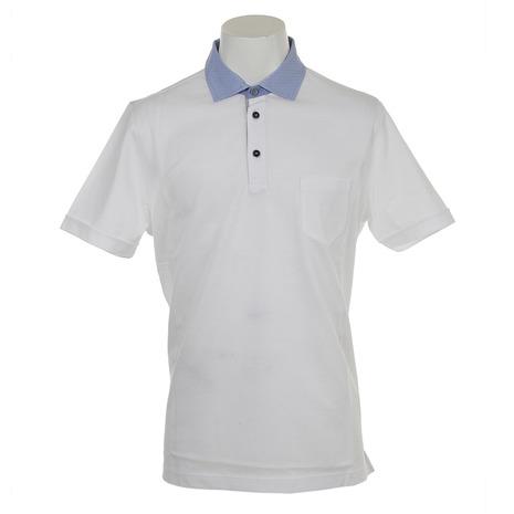 オーシャンスター(OCEAN STAR) ポロシャツ 34 1301 WHT (Men's)