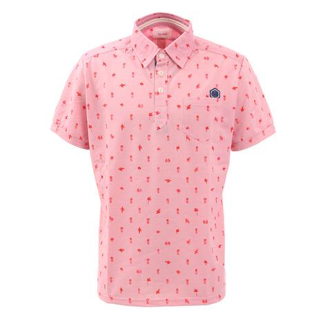 トヴホ(tovho) ゴルフウェア メンズ マーブルポケット付きシャツ 21-145301-055 (Men's)