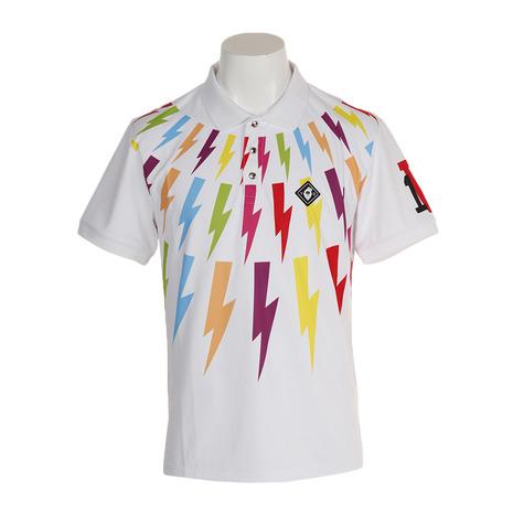 V12 ポロシャツ THUNDER POLO V121910-CT21-WHT (Men's)