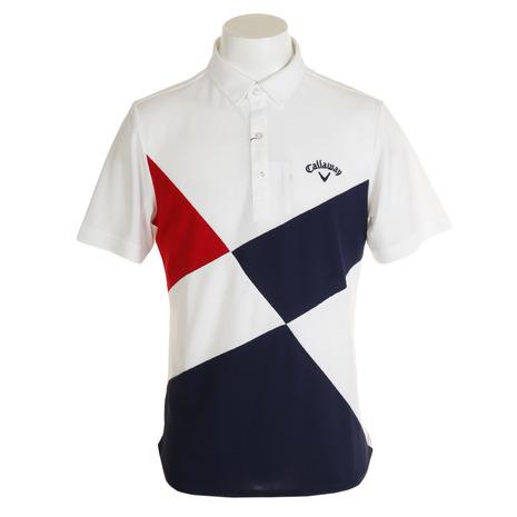 キャロウェイ(CALLAWAY) 切り替え半袖ショートカラーシャツ 241-9257502-030 (Men's)
