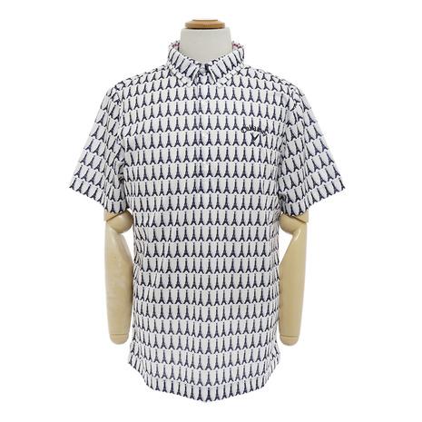 キャロウェイ(CALLAWAY) 18MエッフェルトウプリントB.D.カラーシャツ 241-8257502-030 (Men's)