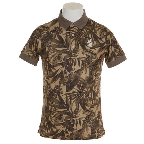 アドミラル(Admiral) ボタニカル ポロシャツ ADMA870-BEG (Men's)