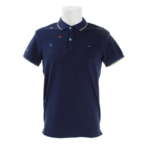 Shockly ゴルフウェア メンズ 半袖ポロシャツ NAIF-9B-EUS18 (Men's)