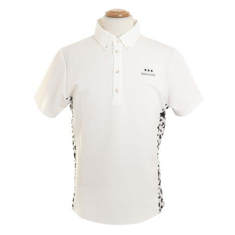 ロックデュード(ROCK DUDE) ゴルフウェア メンズ スターメッシュポロ 11-145301-010 (Men's)