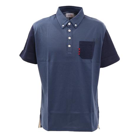 トヴホ(tovho) ゴルフウェア メンズ マルチパターンシャツ 21-145306-069 (Men's)